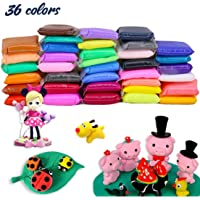 BBLIKE 36 Colours Polymer Clay Modeling Clay Soft