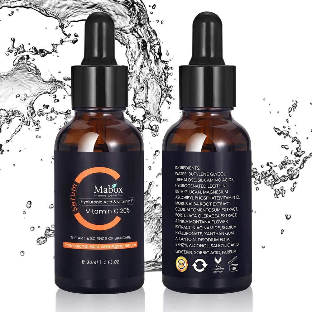 aceite esencial blanqueamiento de limon natural ácido hialurónico aclarar las ojeras reducir el aceite esencial de cuidado de la piel facial melanina Para ...