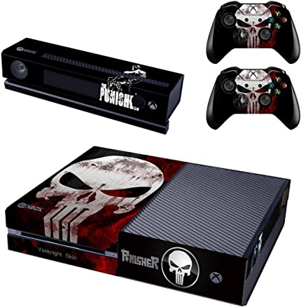 Faceplates, Decals & Stickers Xbox One X Skull Skin Sticker Console Decal Vinyl Xbox One Controller Video Game Accessories