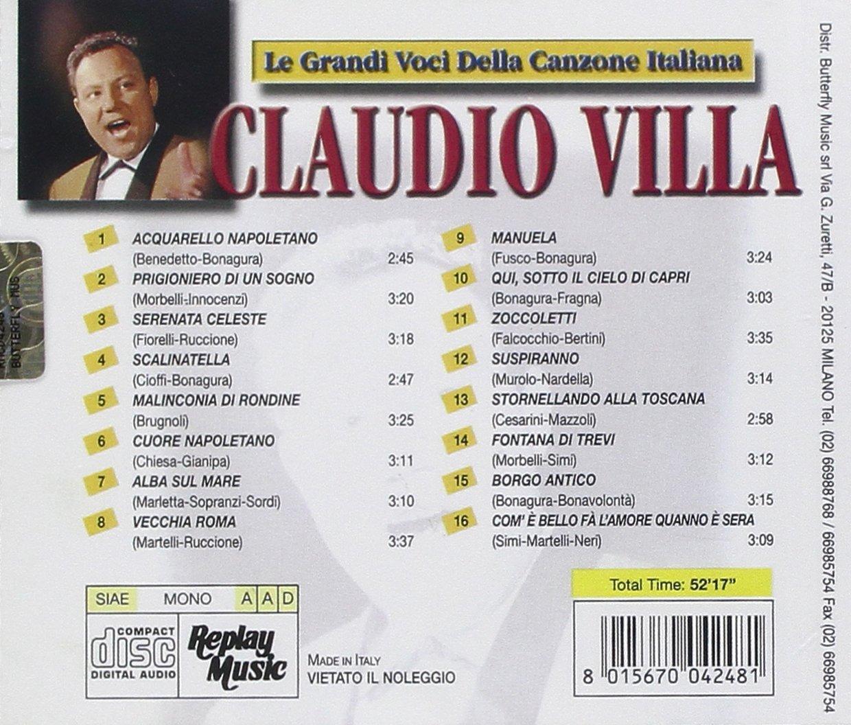 Le Grandi Voci Della Canzone by Replay Records Italy