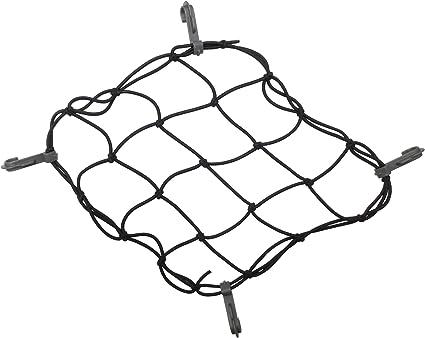 Bike-It Super Strong Cargo Net 6 Hook Design Prevents Bike Luggage Sliding