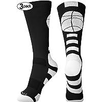 2f8cd44f986 Basketball Socks for Men Women Youth Athletic Running Cushioned Crew Socks