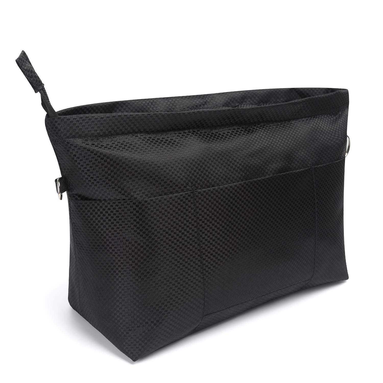 Multi Pocket Purse Organizer,Bag in Bag Handbag Organizer for Tote,Fit Insert Bag Liner Keep Neat