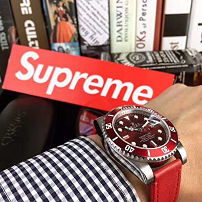 the latest 96264 902cd Amazon.co.jp: ROLEX x Supreme JF製 メンズ腕時計 高品質 noob ...