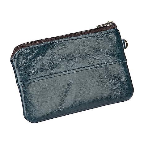 abd6f9cc8657a Fmeida Mini Geldbörse Damen Geldbeutel Retro Portemonnaie Coin Tasche  Kleiner Tasche für Schlüssel Headset Herren (