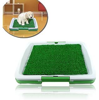 Inodoro de bandeja hecho de césped artificial para los cachorros POTTY PAD -