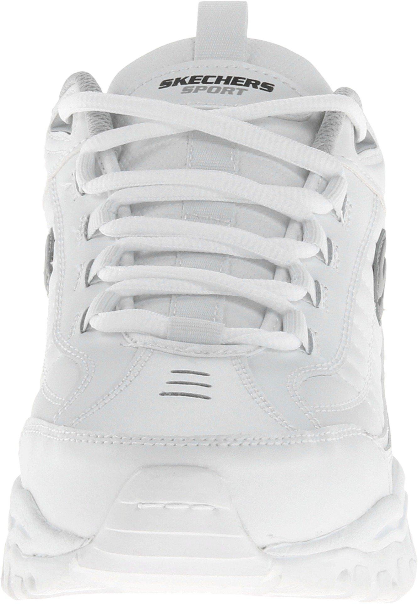 Skechers Men's Energy Afterburn Lace-Up Sneaker,White,8 M US by Skechers (Image #4)
