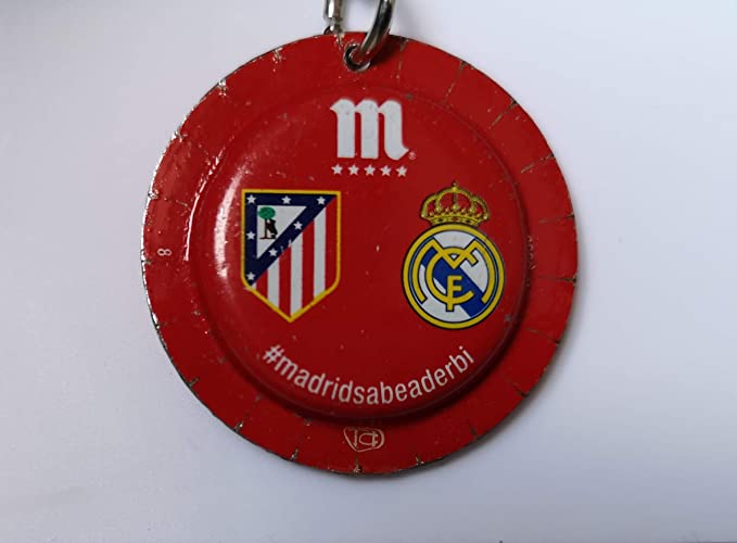 Llavero REAL MADRID ATLETICO MADRID: Amazon.es: Handmade