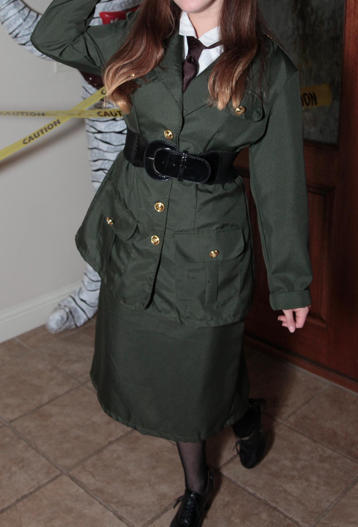 1940s Children's Clothing: Girls, Boys, Baby, Toddler  WWII Army Gal Costume $30.25 AT vintagedancer.com
