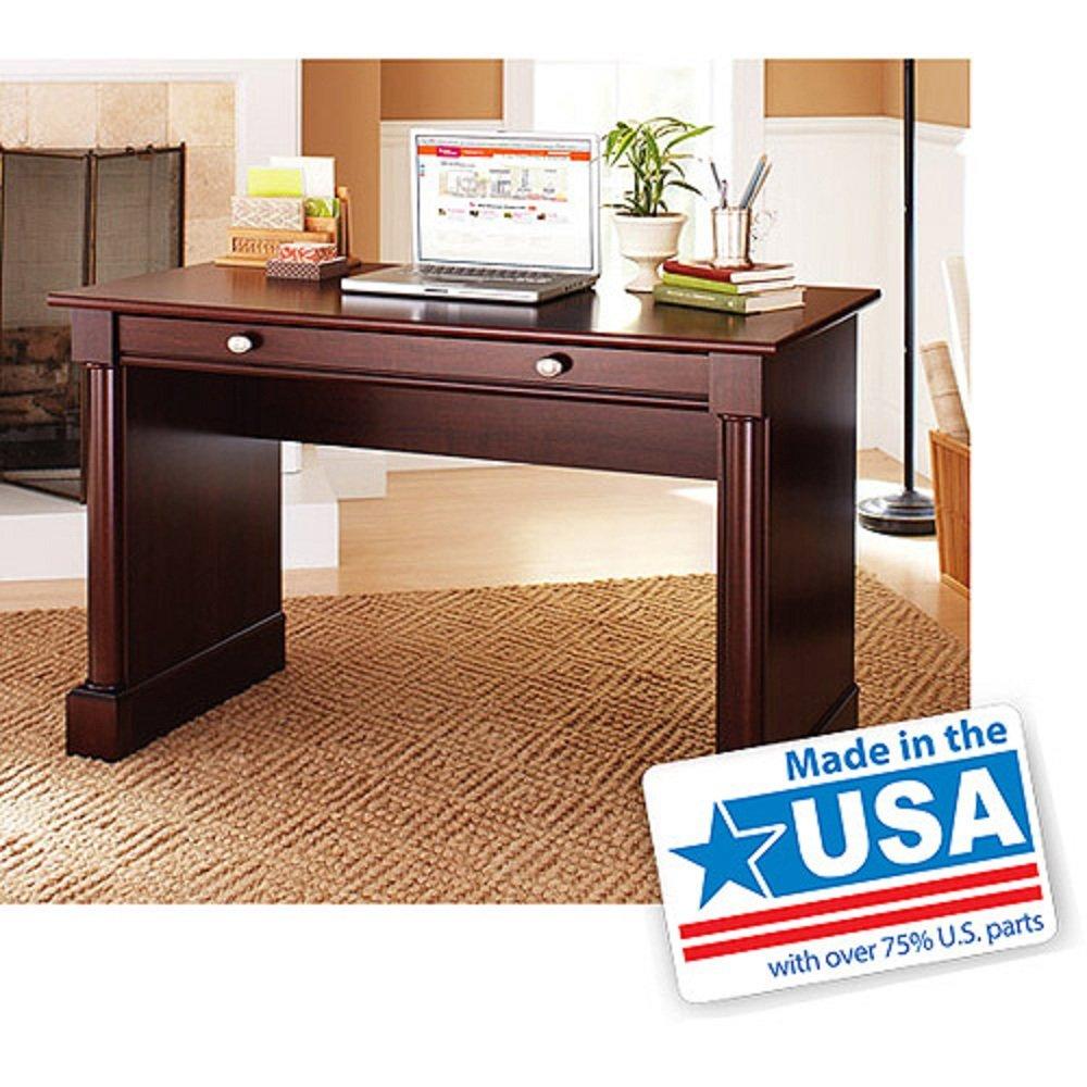 amazoncom ashwood road wood computer and writing desk cherry finish kitchen dining - Writing Desks For Sale
