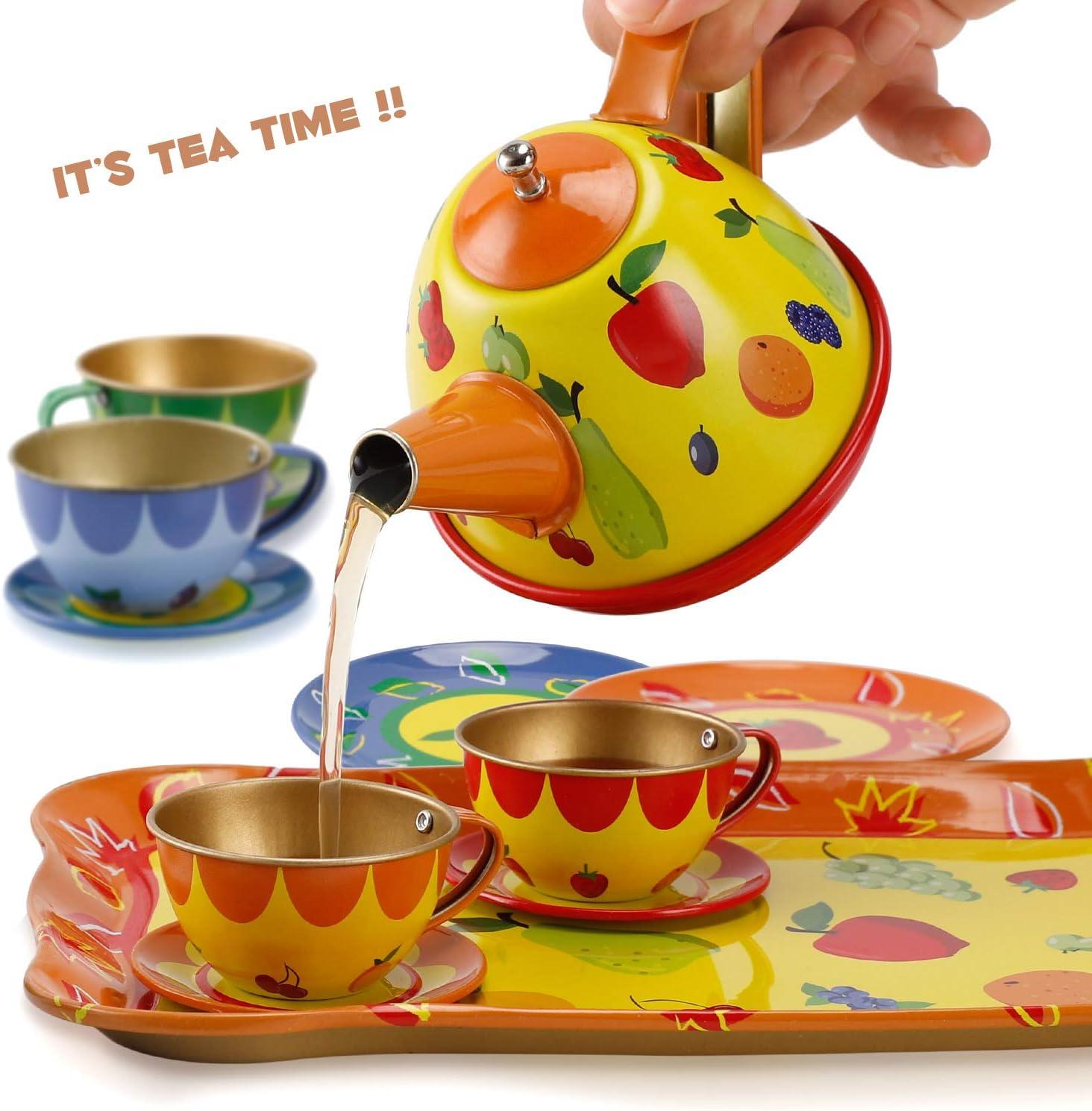 Colorful Fruit Teapot