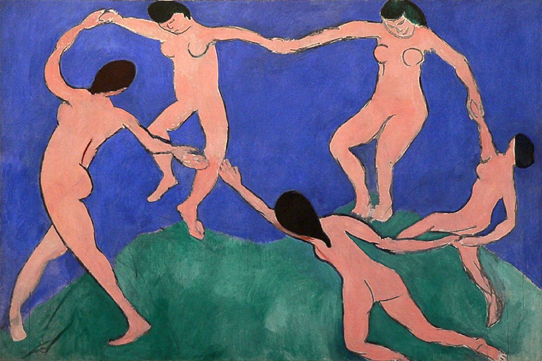 The Dance-Matisse - CANVAS OR FINE PRINT WALL ART