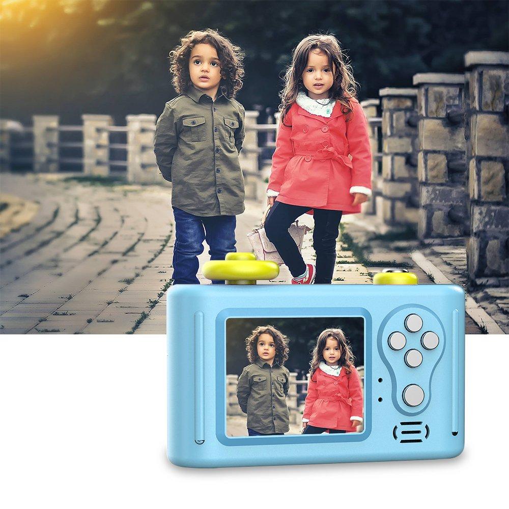 CamKing Kids Children's Camera, 1.5 Inch Screen Mini Digital Camera (Blue) by CamKing (Image #7)