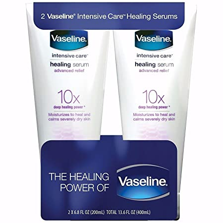 Vaseline Intensive Care Advanced Relief Healing Serum 6.8 fl oz Pack of 2