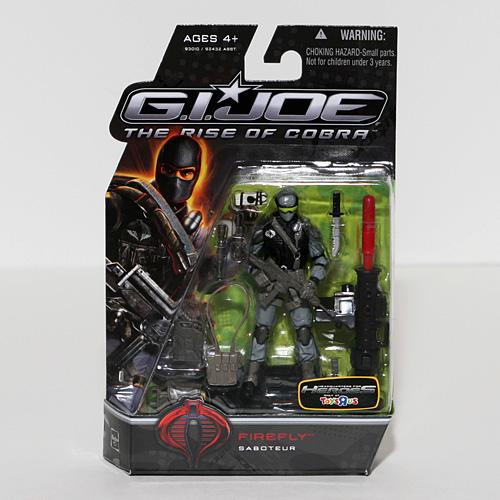 Gi Joe Firefly - G.I. Joe The Rise of Cobra 3 3/4