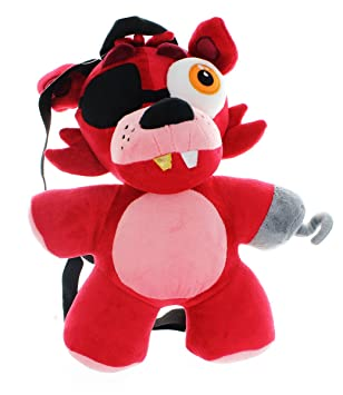 Five Nights At Freddys Foxy Plush Backpack