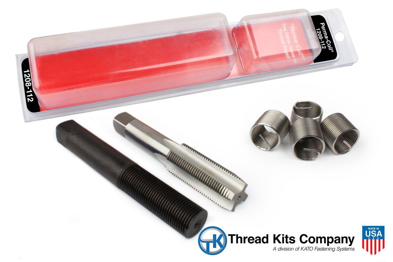 Perma Coil 1208-112 Thread Repair Kit 3/4-10 4PC Helicoil 5401-12