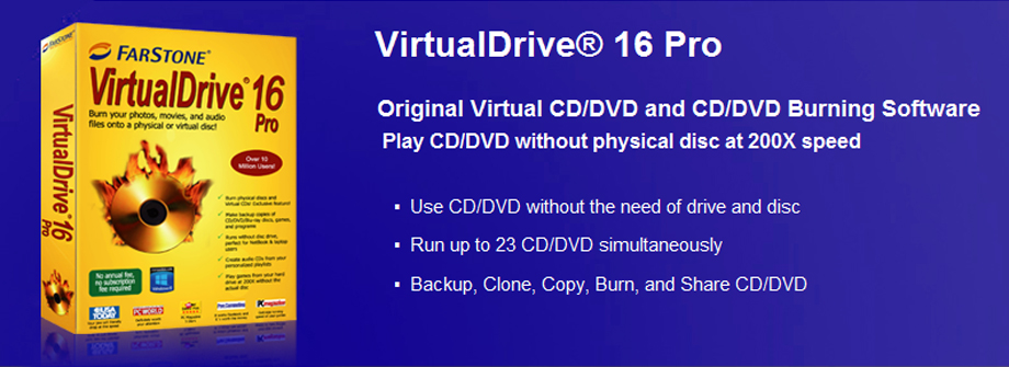 10 free software to mount iso image files as virtual drives.