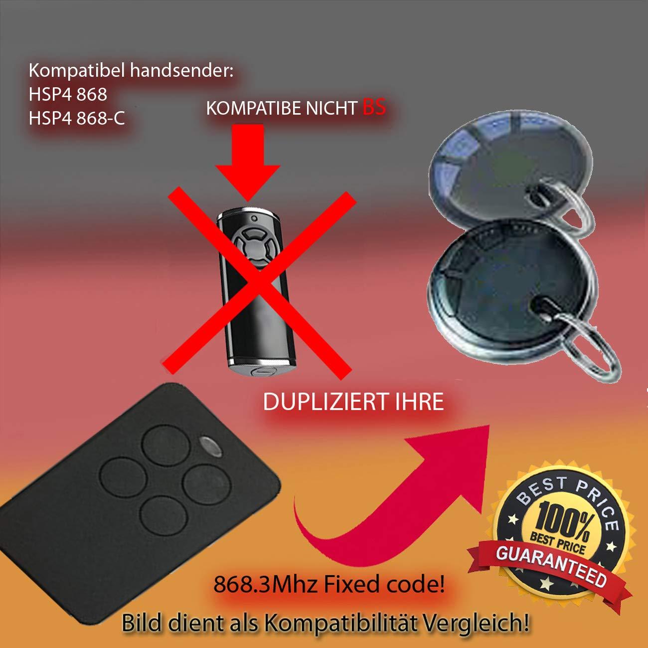 Handsender 868,3 MHz f/ür HSE2 868 Antriebe