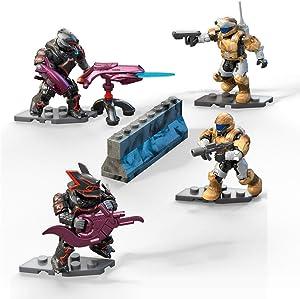 Mega Construx Halo Fireteam Odsts Vs Brutes