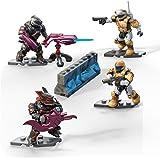 Mega Construx Halo Fireteam Odsts Vs Brutes Playset, Multicolor