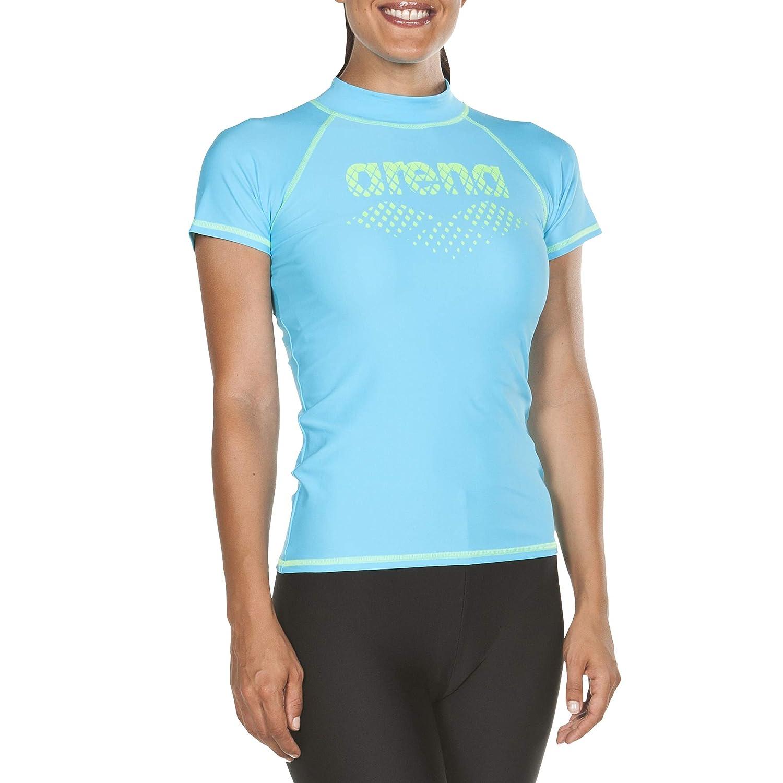 Maglia a Maniche Corte con Protezione Donna ARENA Women UV Protection Short Sleeve Shirt
