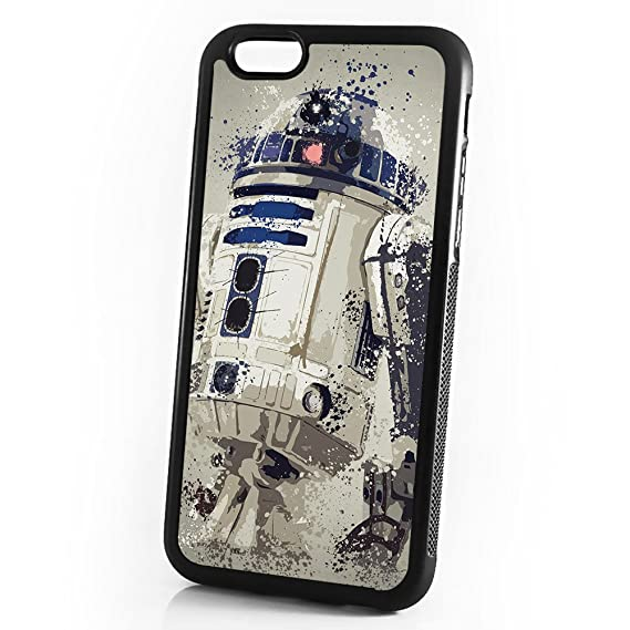 ( For iPhone 5 5S SE ) Durable Protective Soft Back Case Phone Cover -  A11395 Starwars R2D2