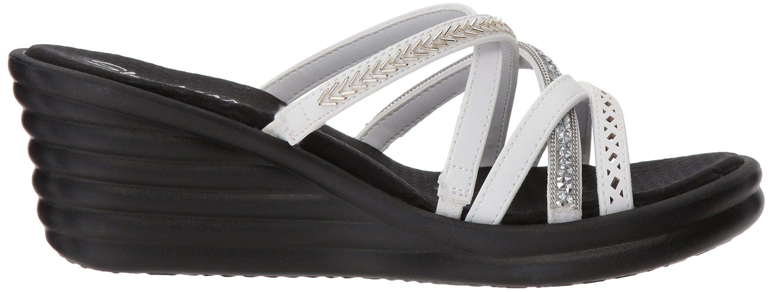e305de462a53 Skechers Cali Women s Rumbler Wave-New Lassie Slide Sandal