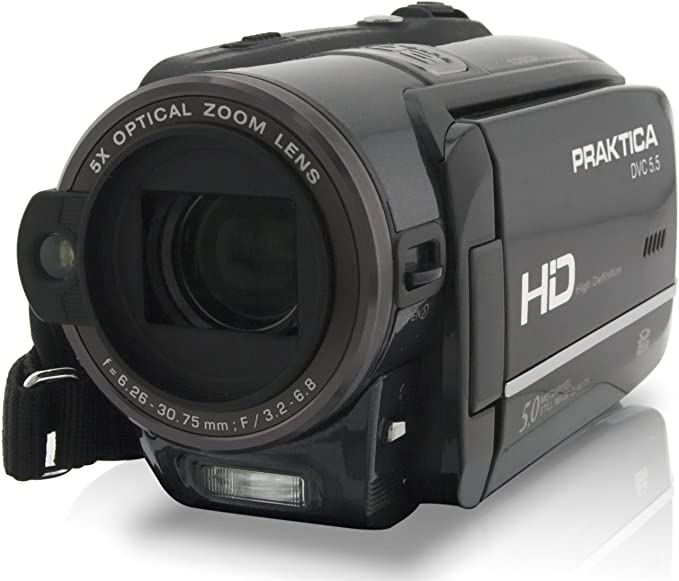 Praktica Dvc 5 5 Hdmi Full Hd 1080p Camcorder Sd Sdhc Card 5 Fach Optischer Zoom 7