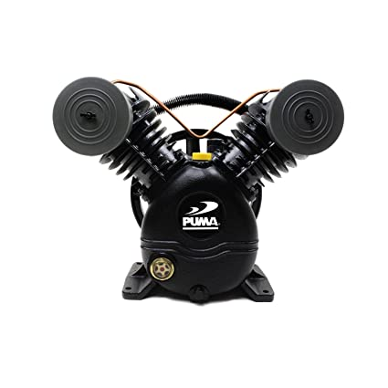 meilleur pas cher bb47a 7dc5c Puma 2 Cylinder 1 Single Stage Cast Iron Air Compressor Pump ...