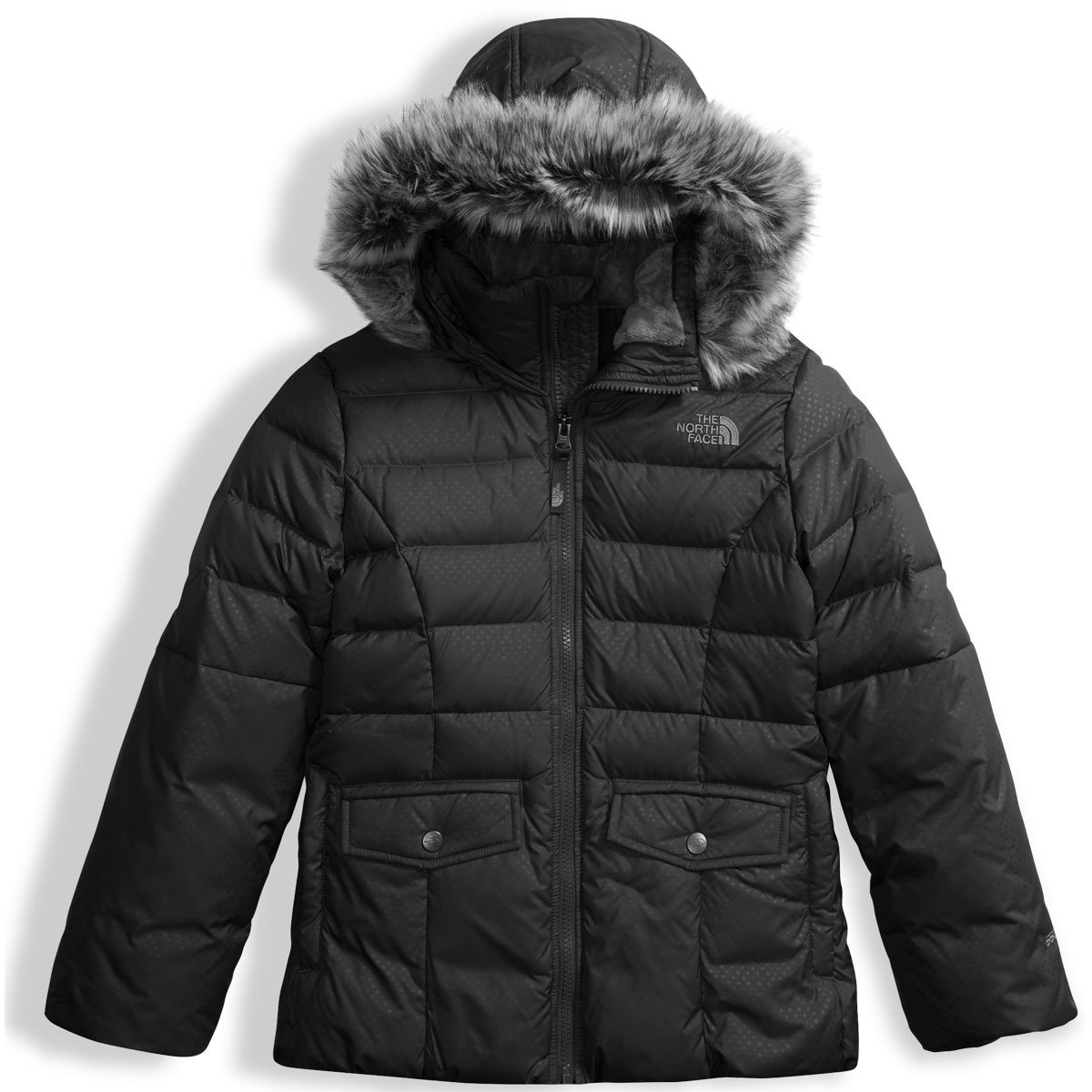 The North Face Girl's Gotham 2.0 Down Jacket TNF Black Large