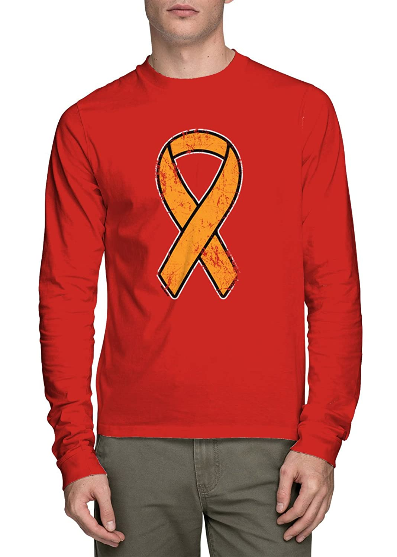 HAASE UNLIMITED Long Sleeves Orange Ribbon T-shirt