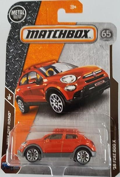 Matchbox 2018 MBX Off Road 1//20-16 Fiat 500X Mattel SG/_B07C91GGP6/_US
