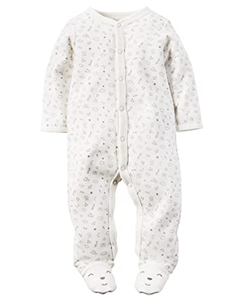 393a37fdf587 Amazon.com  Carters Baby Girls Cotton Sleep   Play (3 Months