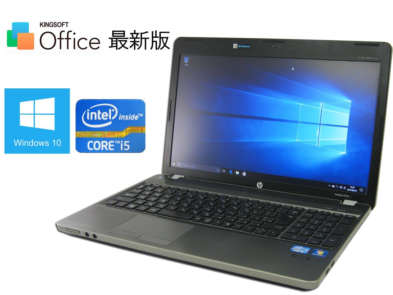 【Win10 中古ノート】hp ProBook 4530S(B4U96PA) ■ 第2世代Core i5/4GB/320GB/Wi-Fi/WEBカメラ/bluetooth/USB3.0/DVDが焼けるスーパーマルチ/最新OS Windows10【Office最新版付属】   B06XY4LGZ5