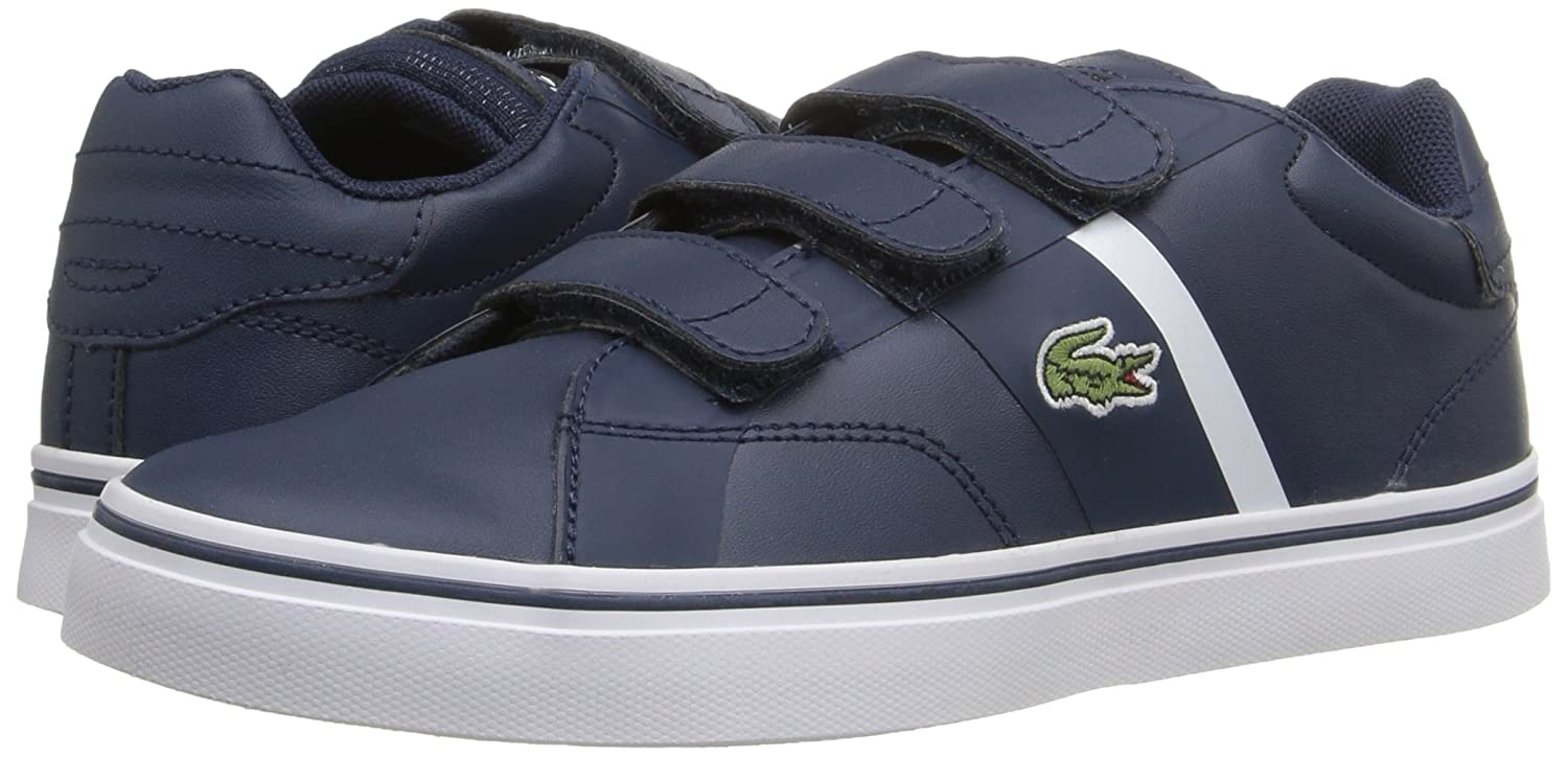 2153dbfcde Lacoste Kids' Fairlead 316 1 Spc NVY Sneaker, Navy, 12 M US Little Kid: Buy  Online at Low Prices in India - Amazon.in