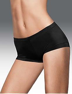 09c87c485b5 Maidenform Women's Microfiber with Lace Boyshort Panty at Amazon ...