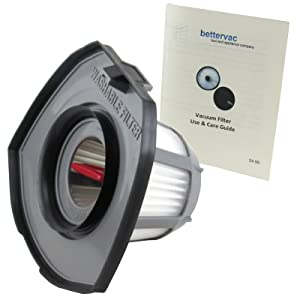Bissell 1610369 Bolt Lithium Lightweight 2 in 1 Pet and MAX Pet Vacuum Filter Bundled With Use and Care Guide