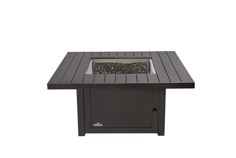 Amazon.com : Napoleon Grills St. Tropez Square Patioflame Table, Rustic  Bronze : Garden U0026 Outdoor