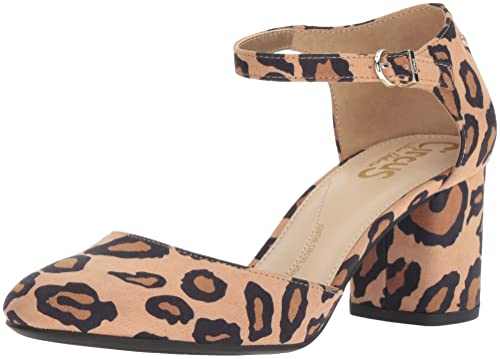 7d0ca46be2b0f5 Circus by Sam Edelman Women s Joelle Pump Brown Leopard Microsuede 6 M US