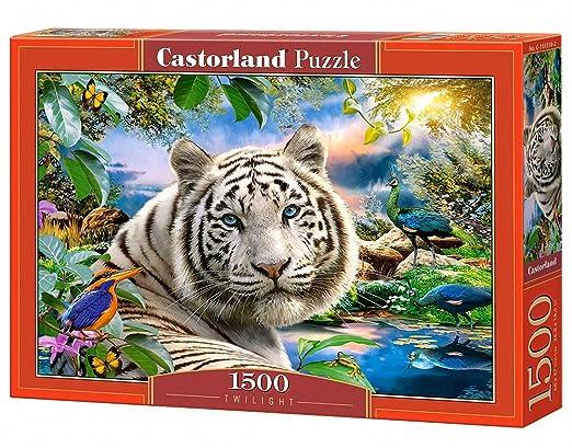 Castorland Twilight 1500 pcs Puzzle - Rompecabezas (Puzzle ...