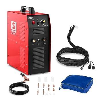 Stamos Germany - La cortadora de plasma S-PLASMA 40-40 A 230 V - compresor de aire integrado - Envio Gratuito: Amazon.es: Bricolaje y herramientas