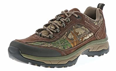 5a35192500e Amazon.com | Realtree Men Clay All Terrain Hiking Sneakers Brown 9 ...