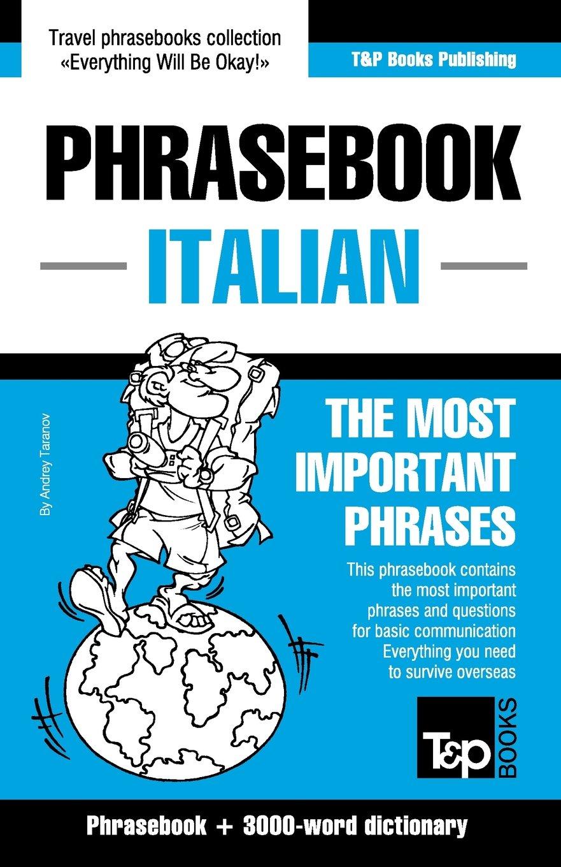 Phrasebook ENGLISH - ITALIAN
