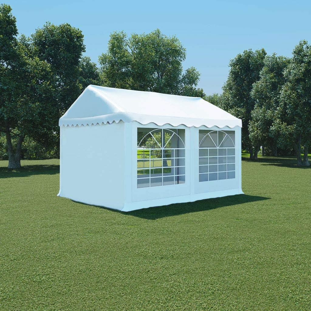 guyifuzhuangs Carpa de jardín de PVC 3x4 m blancoCasa y jardín Jardín Artículos de Exterior Estructuras de Exteriores Pabellones y cenadores: Amazon.es: Hogar