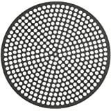 LloydPans Lloyd Pans 16 inch, Pre-Seasoned PSTK, Perforated Made in the USA Pizza Quik Disk, Dark Gray