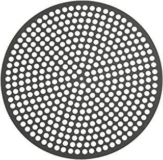 product image for LloydPans Lloyd Pans 16 inch, Pre-Seasoned PSTK, Perforated Made in the USA Pizza Quik Disk, Dark Gray