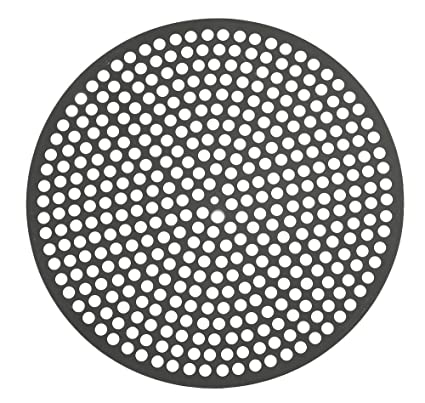 LloydPans QDF40-10-PSTK Pre-Seasoned Stick Resistant Perforated Pizza Disk (Set