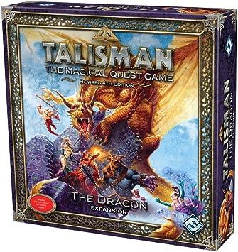 Talisman the Magical Quest Game: The Dragon Expansion: Fantasy Flight Games: Amazon.es: Juguetes y juegos