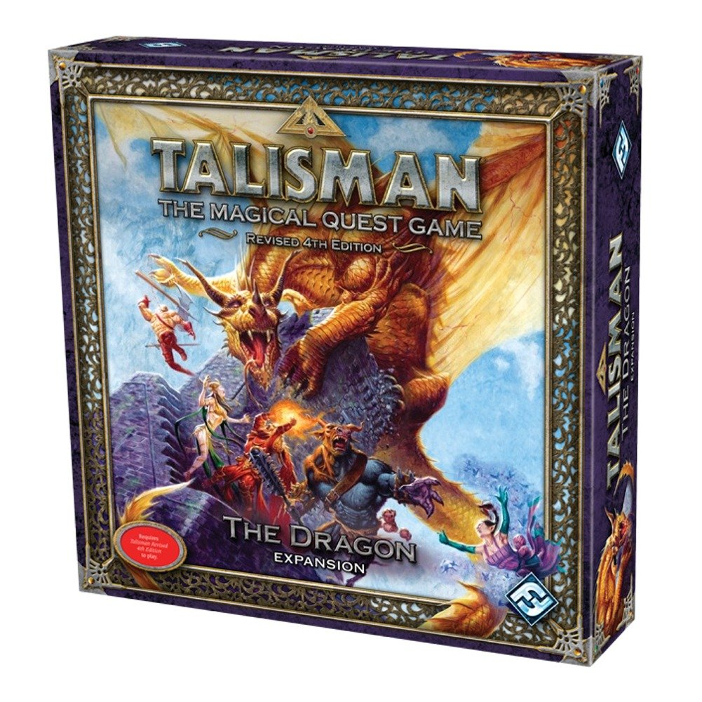 Talisman the Magical Quest Game: The Dragon Expansion: Fantasy ...